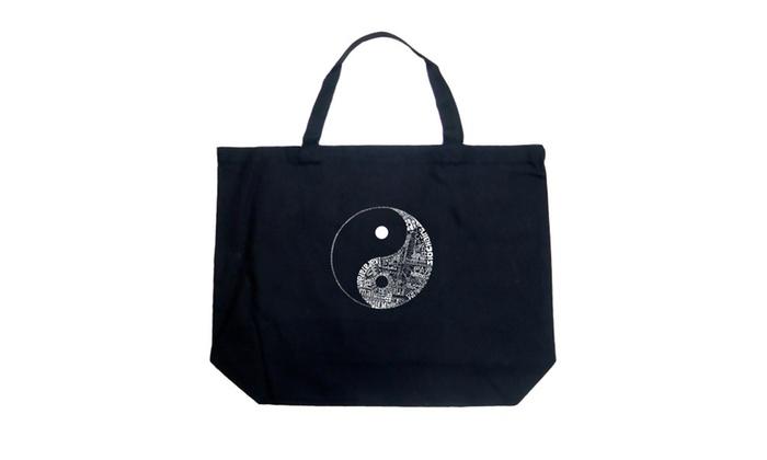 Large Tote Bag - YIN YANG