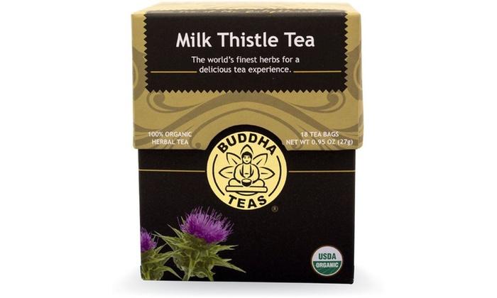 Buddha Teas Milk Thistle Tea