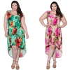 Sealed with a Kiss Designs Plus Size Irene Hi Lo Tank Dress