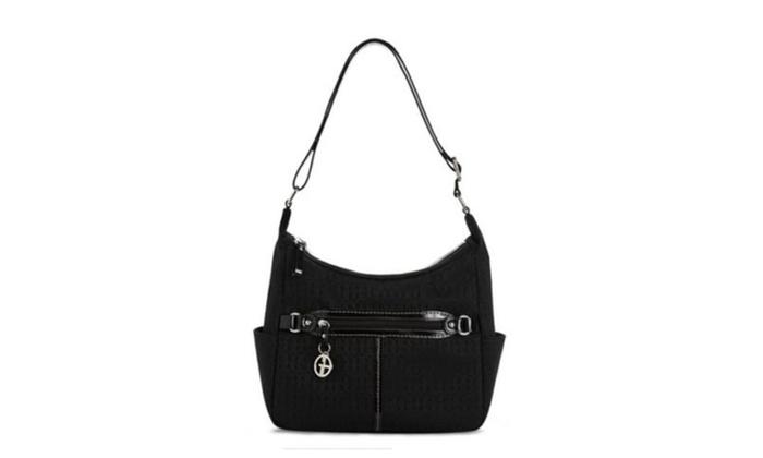 Giani Bernini Annabelle New Hobo Bag Dark Navy Meduim