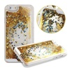 Gold Glitter Waterfall iPhone 5 or iPhone 6 Case