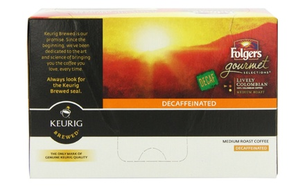 Folgers Decaf Lively Colombian K-Cups (Pack of 72)