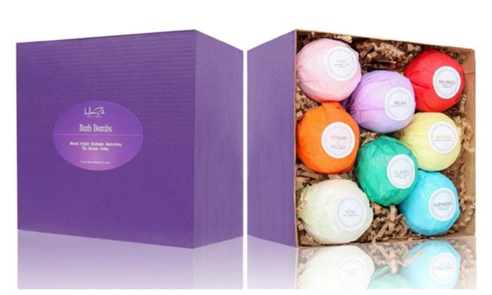 Bizzmo Unltd.: USA Made Vegan Bath Bombs Kit, 8 ct.