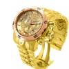 Invicta 13874 Gold Dial Venom Quartz Chronograph Men's Watch