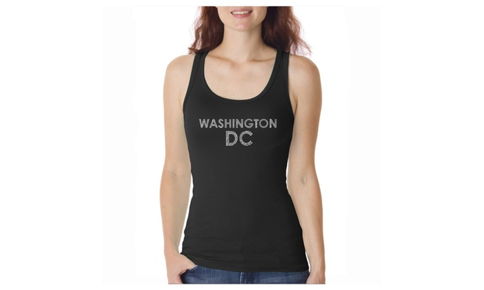 Women's Tank Top - WASHINGTON DC NEIGHBORHOODS