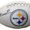 Dermontti Dawson Autographed Pittsburgh Steelers Football