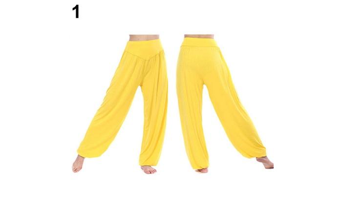 LADIES WOMEN/'S HAREM TROUSERS ALI BABA LONG BAGGY PANTS HAREEM LEGGINGS