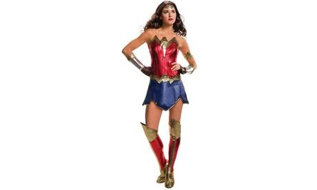 Batman v Superman Wonder Woman Deluxe Adult Costume Plus e73d8cbd-e43e-42b0-bff6-157705946226