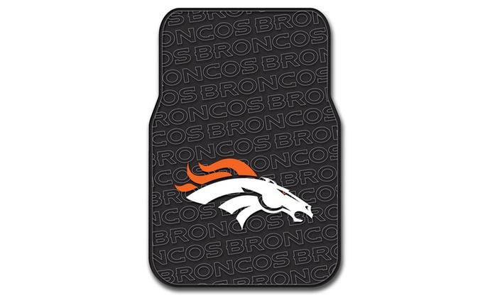 NFL 343 Broncos Car Front Floor Mat