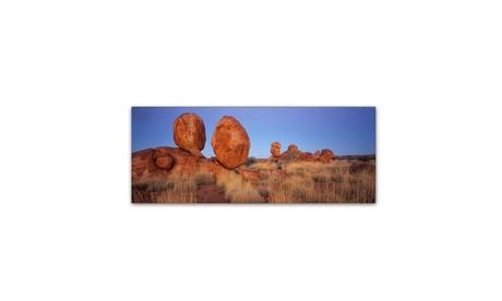 David Evans 'Devils Marbles' Canvas Art a2d6f109-3f9d-487f-80ef-4aa57d667a73