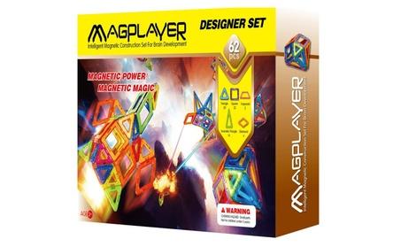 Intelligent magnetic construction magplayer blocks toys set 62 pcs eb7de0c8-a0c1-4811-a4e9-b4f940fcc098