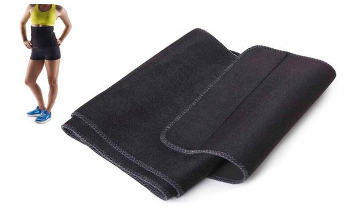 "Adjustable 10-Inch Wide Trimmer Belt Fits Up To 60"" Waists"