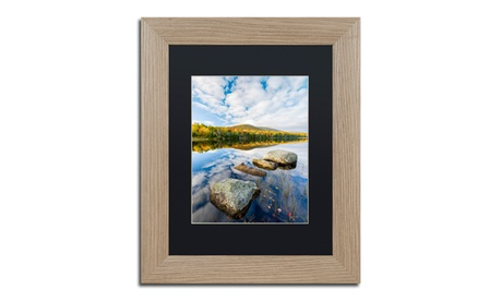 Michael Blanchette Photography 'Hopscotch' Matted Birch Framed Art c7c0fde6-f418-49e7-9f4f-118235ee093d