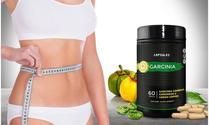 Garcinia Cambogia With Caffeine And Chromium Supplement 60 Count