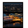 Philippe Hugonnard Window View London by Night 5 Canvas Print 24 x 32