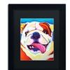 DawgArt 'Bully Grin' Matted Framed Art