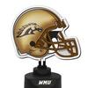 Neon Helmet Lamp-Western Michigan