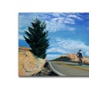Coleen Proppe Biker Ascending Canvas Print