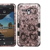 Insten Hybrid Silicone Case For Alcatel One Touch Fierce XL Rose Gold