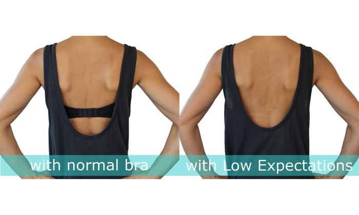 Low Back Bra Converters in Biege Fashion First Aid Womens Expectations
