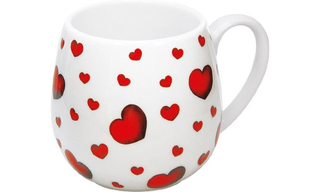 Set of 4 Snuggle Mugs Little Hearts 5adde6f7-3afd-4d33-b3aa-dd0226ee20a5