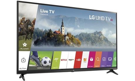 LG Electronics 55UJ6300 55-Inch 4K Ultra HD Smart LED TV 2017 Model Refurbished e993ed34-c034-47db-b77f-46fa078a3f47