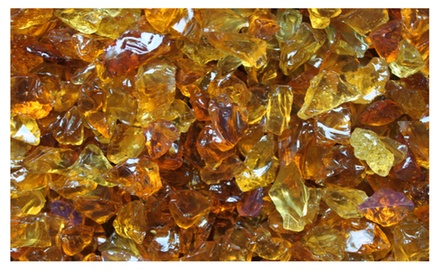 Cowboy Brown Crushed Fire Glass 3/8