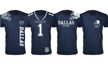 Men's Dallas Football Fan T-Shirts Collection (Extended Sizes Available)