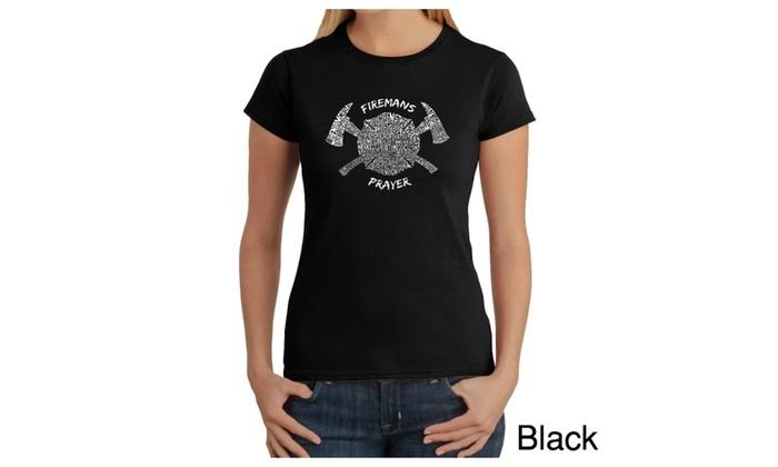 Women's T-Shirt - FIREMAN'S PRAYER