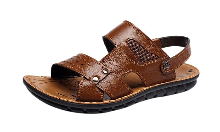 Men's Strap Slip On Beach Roman Sandals