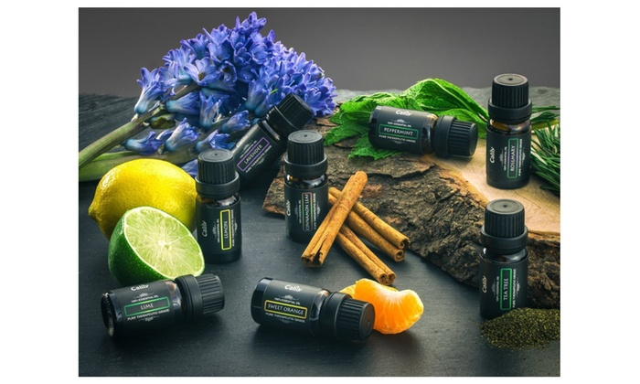 Calily Aromatherapy 100 Pure Therapeutic Grade Essential Oil Gift