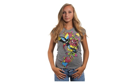 Doves and Roses T Shirt
