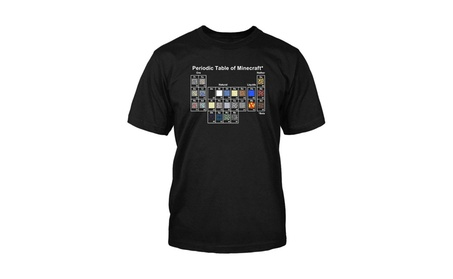 Jinx Minecraft Periodic Table T-Shirt ce20204a-72f5-48c3-a22f-661d3bfc8f24