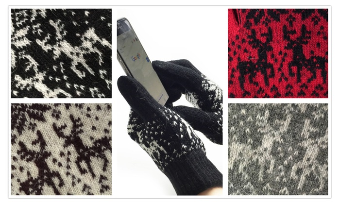Texting Screen Gloves (Pack of 2 Pairs)