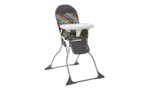 Simple Fold High Chair Rainbow Dots