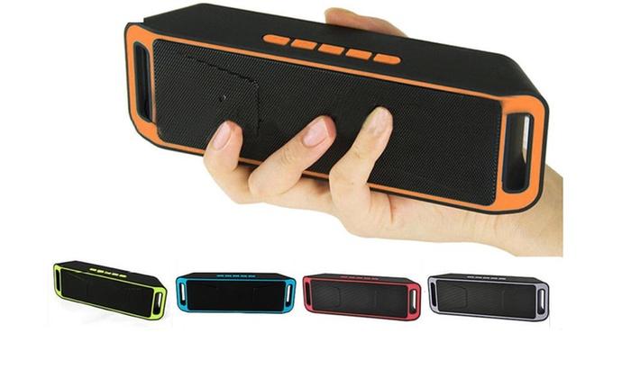 Recharegable Wireless Bluetooth Speaker Portable Outdoor USB TF FM Radio Stereo