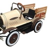 Dexton Kid's Woody Delivery Truck, Brown