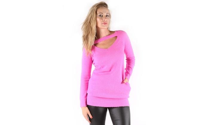 Xehar Women's Danielle Tunic Sweater