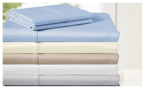 850-thread Count 100% Egyptian Cotton 4 Piece Sheet Set
