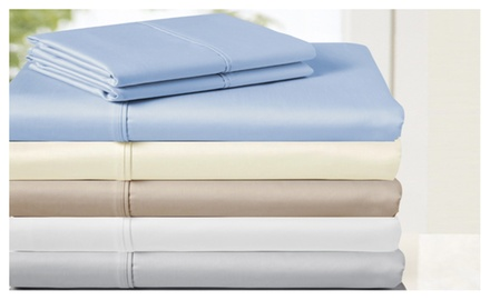 850-Thread Count 100% Egyptian Cotton 4 Piece Sheet Set