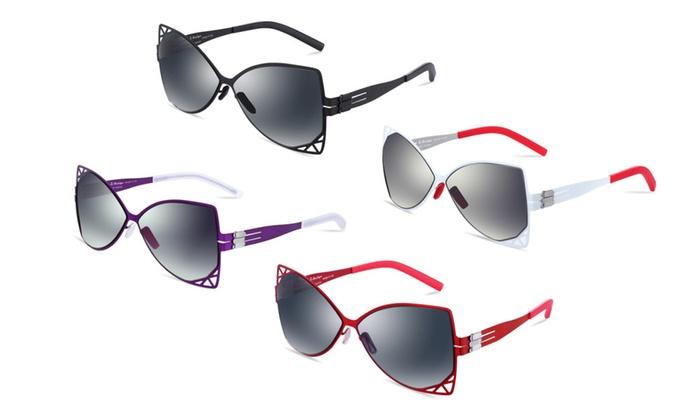 i-Design ID1017 Ultra Light Aviator 62mm Sunglasses for Women