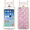 Insten Hard Case Chain w/Diamond For Apple iPhone 6 Pink/Silver