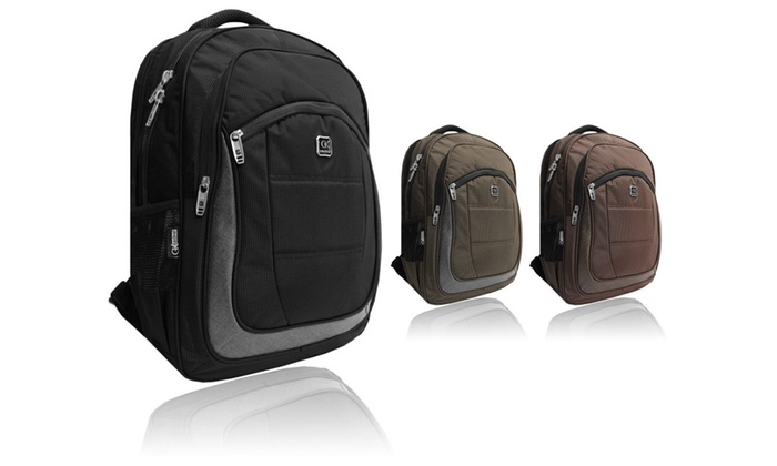 50587ca3f Eurosport Daily Laptop Backpack - Fits Up to 17-Inch Laptop | Groupon