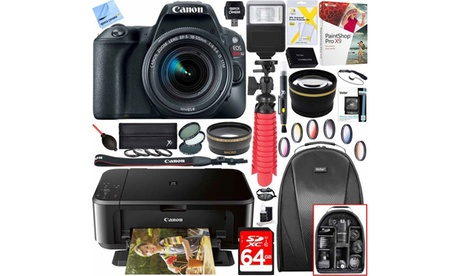 Canon EOS Rebel SL2 24MP DSLR Camera, Lens, and Printer Bundle b6913aa5-1c55-44c1-a5ef-16ae14c4e324