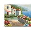 Rio Mediterranean View Canvas Print