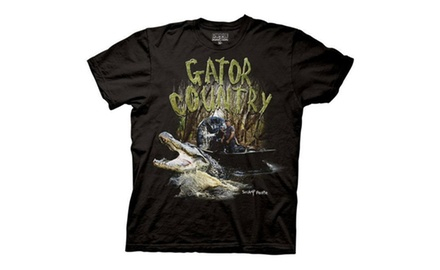 Swamp People Gator Country Troy Landry Adult T-Shirt on History Channel
