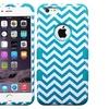 Insten Hard Hybrid Case For Apple iPhone 6 Plus Blue/White