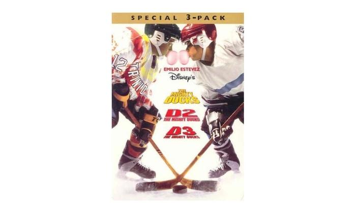 7b995d858 Mighty Ducks/D2/D3 Trilogy (DVD)   Groupon