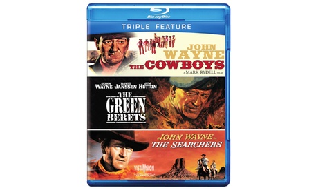 Cowboys, The / Green Berets, The / Searchers, The (BD) (3FE) 1313e4d6-e9b8-4971-9ab9-ea3b8574c0a4
