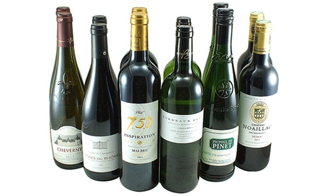 12 Mixed Bottles of Fabulous French Best Buys!